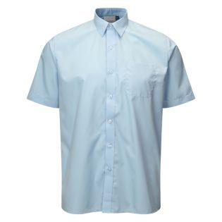 Banner Boys Twin Pack Short Sleeve Blue Shirt