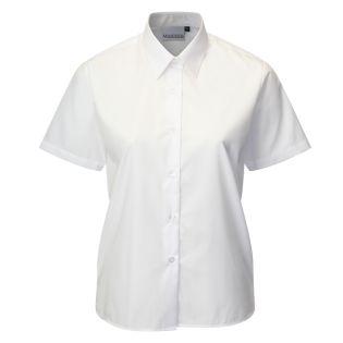 Banner Girls Twin Pack Short Sleeve White Blouse